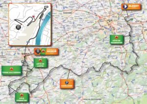 Parcours du Grand Prix de Wallonie 2019